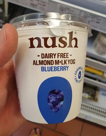 Nush Almond Bluberry Yoghurt 350g