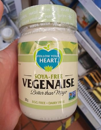 Follow Your Heart Soya Free Vegenaise 340g