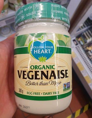 Follow Your Heart Organic Vegenaise 340g