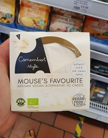 Mouse's Favourite – Camembert Artisan Vegan Style Cheese 140g