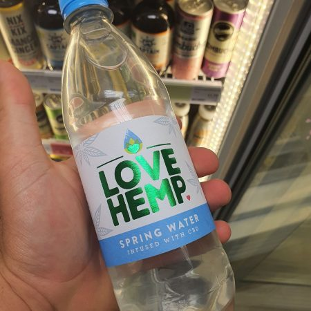 Love Hemp CBD Spring Water 500ml