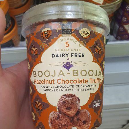 Booja Booja Organic Hazelnut Chocolate Truffle Ice Cream 500ml