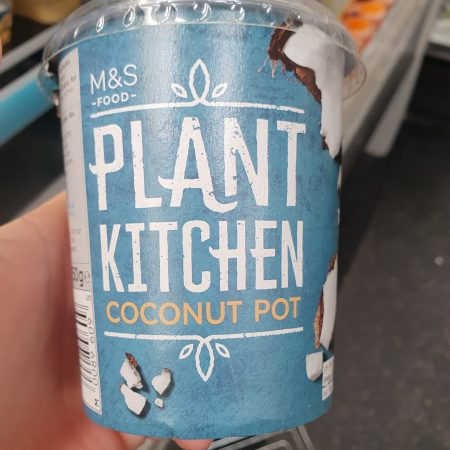 M&S Plant Kitchen Coconut Pot