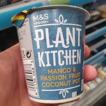 M&S Plant Kitchen Mango and Passionfruit Coconut Pot
