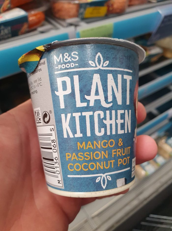 M&S Plant Kitchen Mango and Passionfruit Coconut Pot