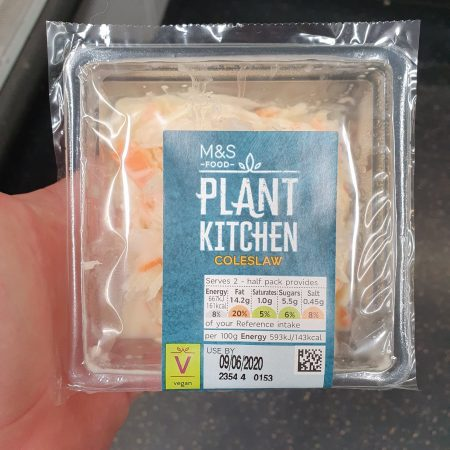 M&S Plant Kitchen Coleslaw 225g