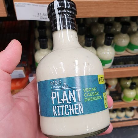 M&S Plant Kitchen Vegan Caesar Dressing