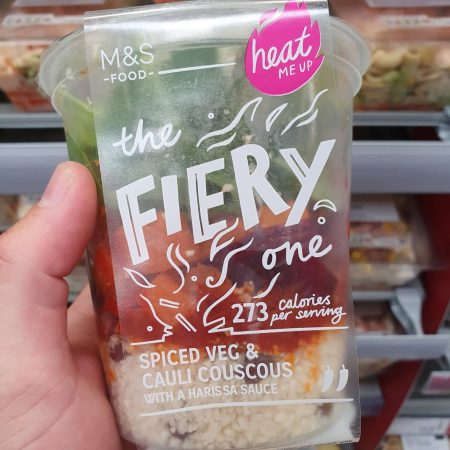 M&S The Fiery One Spiced Veg and Cauli CousCous 350g
