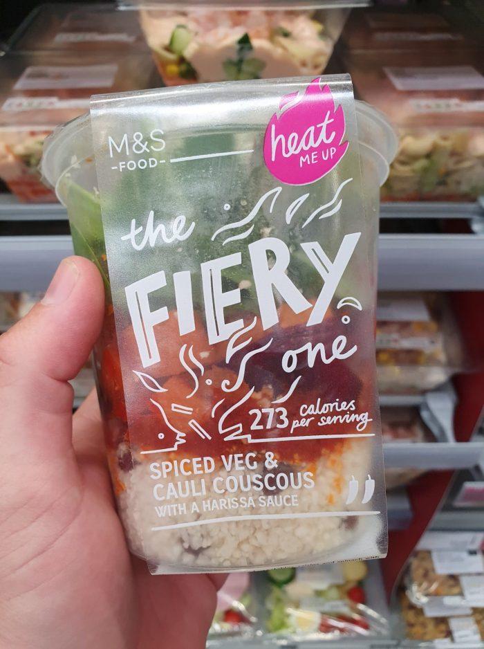 M&S The Fiery One Spiced Veg and Cauli CousCous 350g