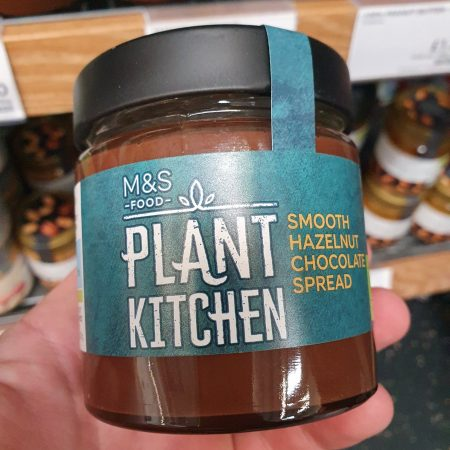 M&S Plant Kitchen Smooth Hazelnut Chocolate Spread 200g