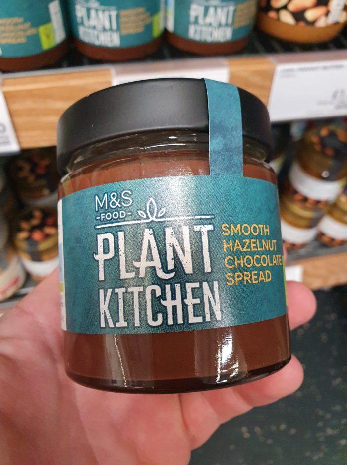 M&S Plant Kitchen Smooth Hazelnut Chocolate Spread 200g