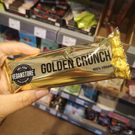 Vegan Store Golden Crunch Bar Dark Chocolate 49g