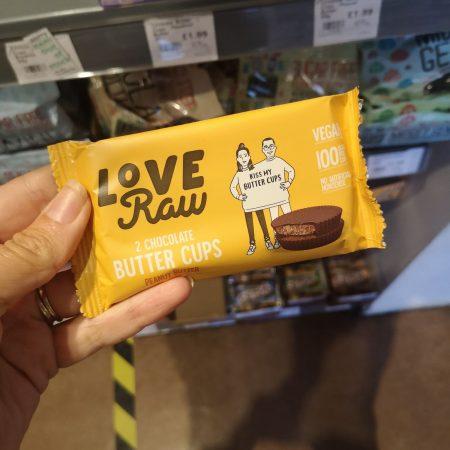 Love Raw Peanut Butter Cups