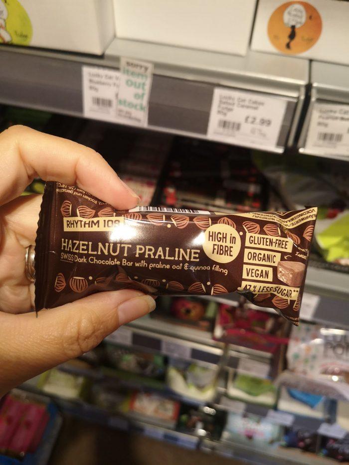 Rhythm 108 Gluten Free Hazelnut Praline 33g