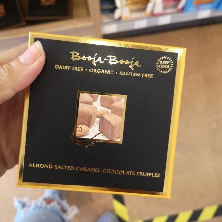 Booja Booja Almond Salted Caramel Chocolate Truffles (104g)
