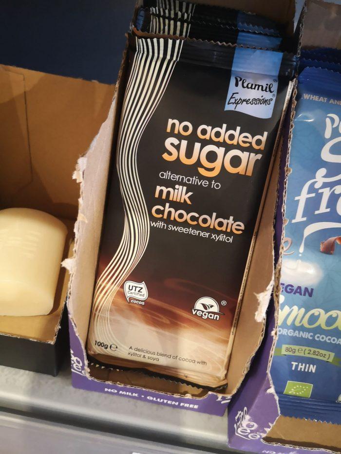 Plamil | No Added Sugar Alternative To Milk Chocolate