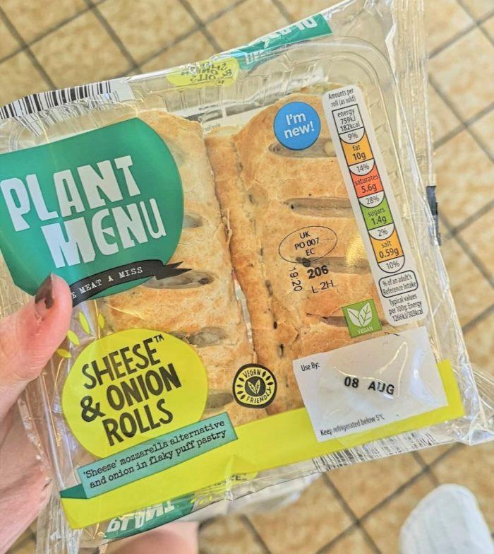 Plant Menu Sheese & Onion Rolls