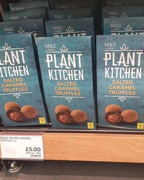 M&S Plant Kitchen Salted Caramel Truffles