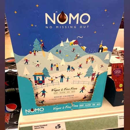 Nomo Chocolate Advent Calendar
