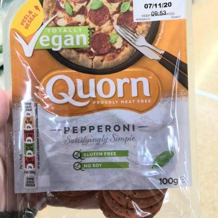 Quorn Vegan Pepperoni 100g