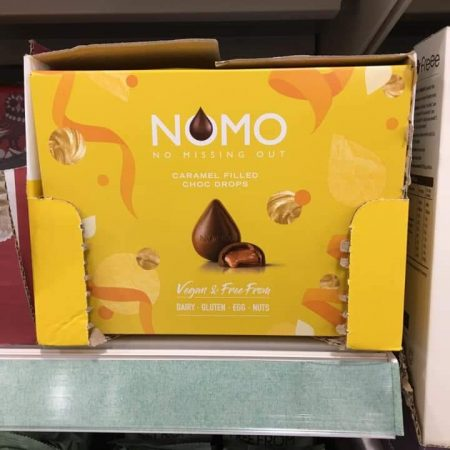 Nomo Caramel Chocolate Drop Tray