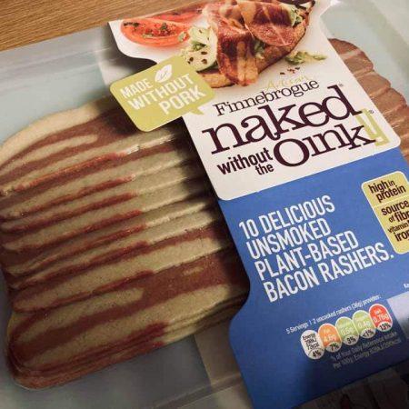 Finnebrogue 10 Unsmoked Plant Based Bacon Rashers