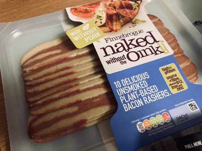 Finnebrogue 10 Unsmoked Plant Based Bacon Rashers