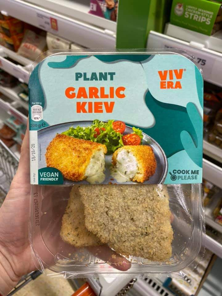 Vivera Plant Garlic Kiev 200g