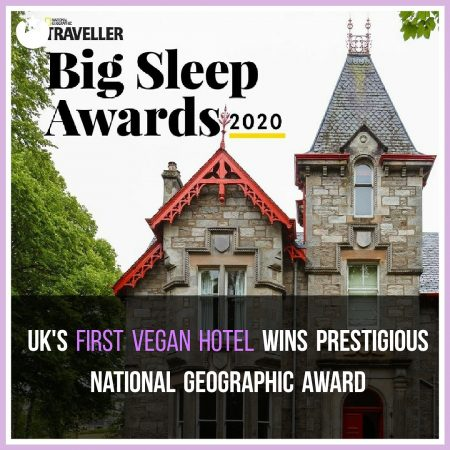 UK's First All-Vegan Hotel Wins Prestigous Travel Award
