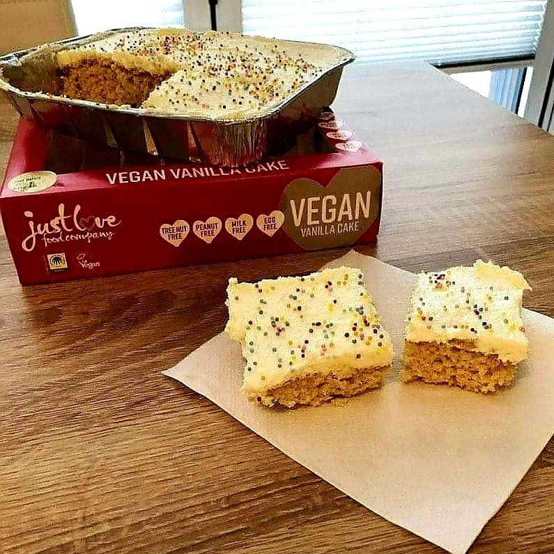 Just Love Food Company Vegan Vanilla Cake