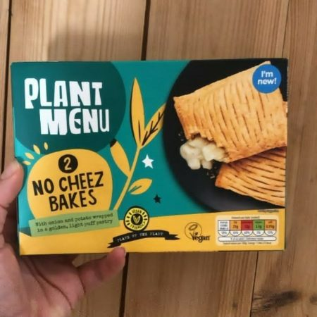 Plant Menu No Cheez Bakes