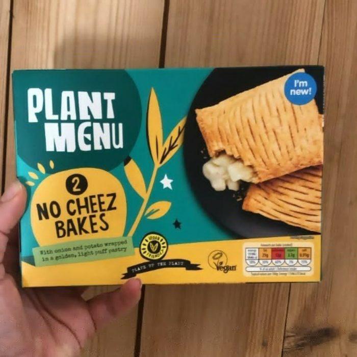 Plant Menu No Cheez Bakes