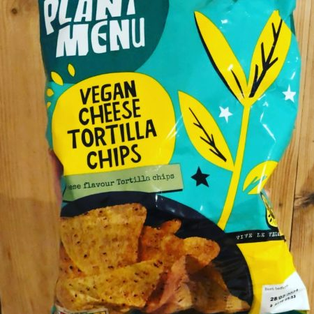 Plant Menu Vegan Cheese Tortilla Chips