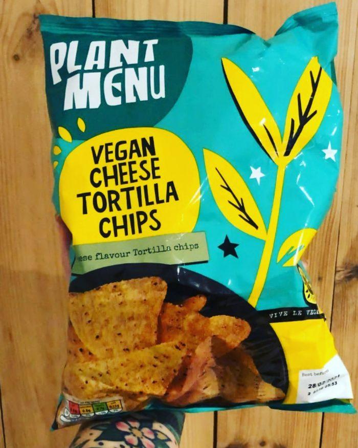 Plant Menu Vegan Cheese Tortilla Chips