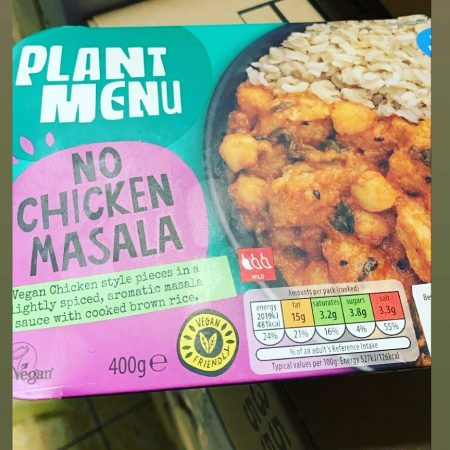 Plant Menu No Chicken Masala 400g