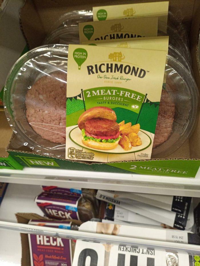 Richmond 2 Meat Free Burgers