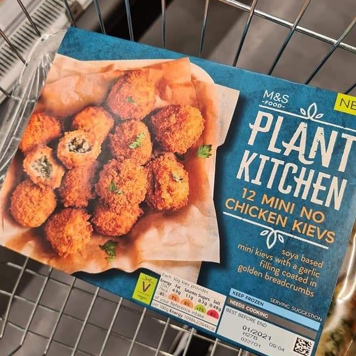 Plant Kitchen 12 Mini No Chicken Kievs