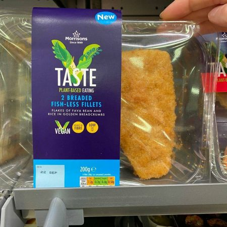 Morrisons 2 Breaded Fishless Fillets 200g