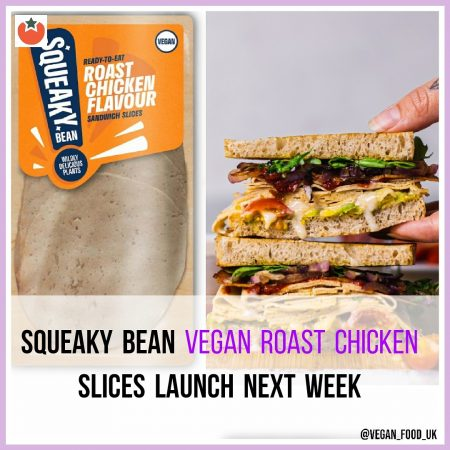 Vegan Roast Chicken Slices to Launch at UK Supermarkets