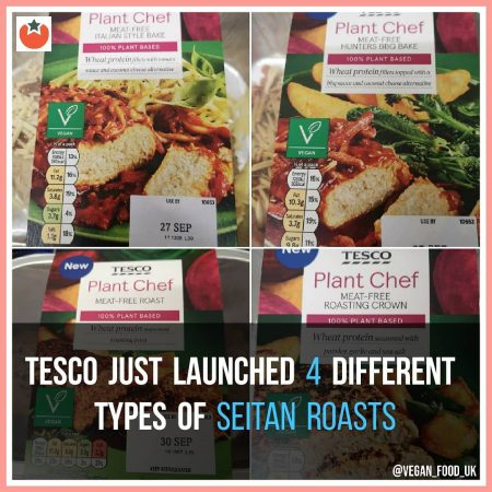 Tesco Launch Four Different Vegan Roasts