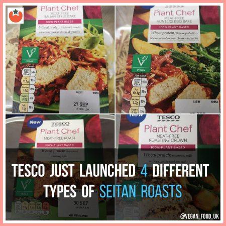 Tesco Launch Four Different Vegan Roasts