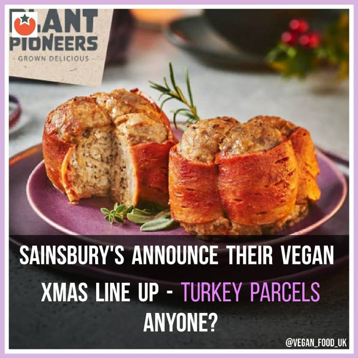 Sainsbury's Announce Their Vegan Christmas Food Menu for 2020
