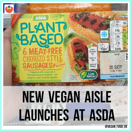 Asda To Launch a Vegan Only Ambient Aisle