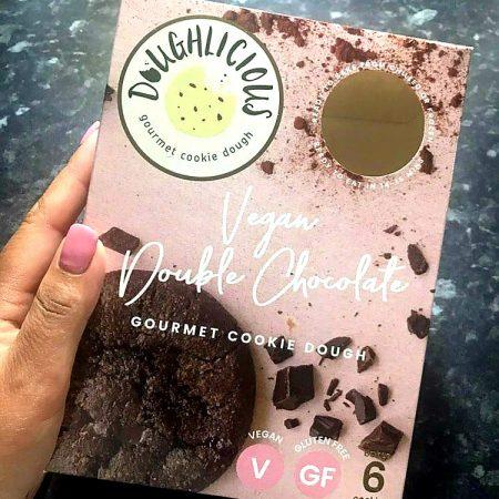 Doughlicious Vegan Double Chocolate Cookie Dough