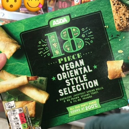 Asda 18 Piece Vegan Oriental Selection