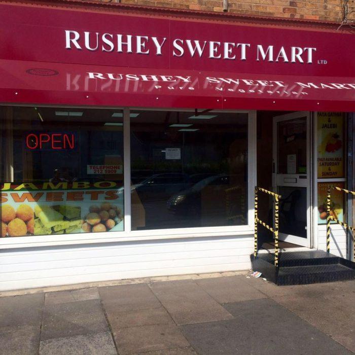 Rushey Sweet Mart