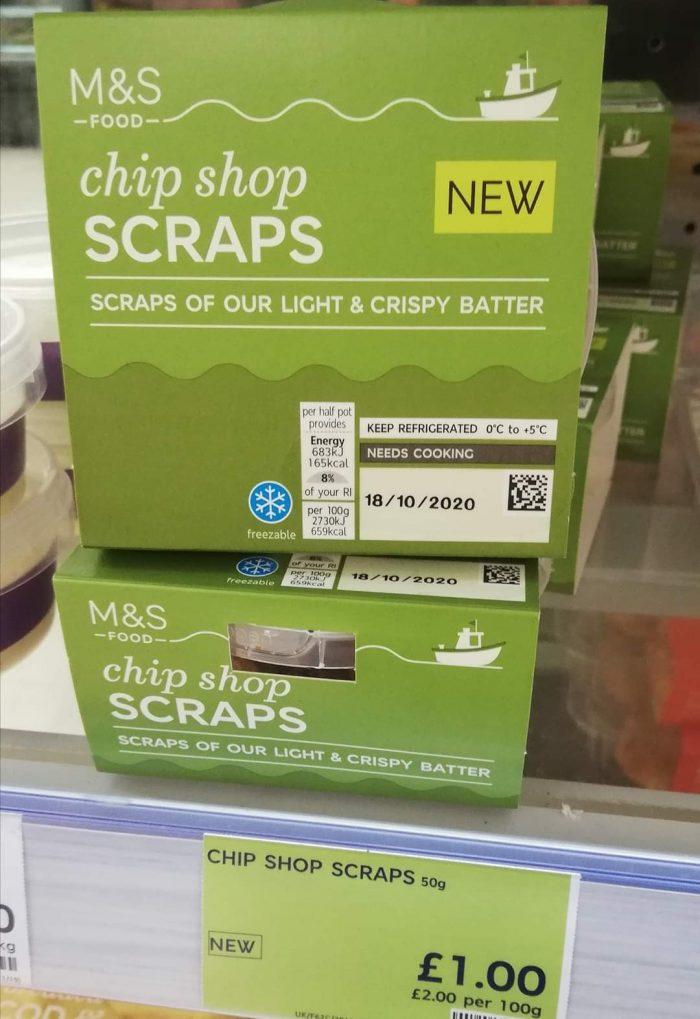 M&S Chip Shop Scraps 50g