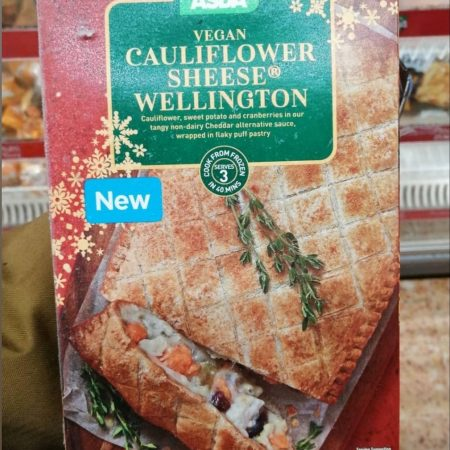 Asda Vegan Cauliflower Sheese Wellington