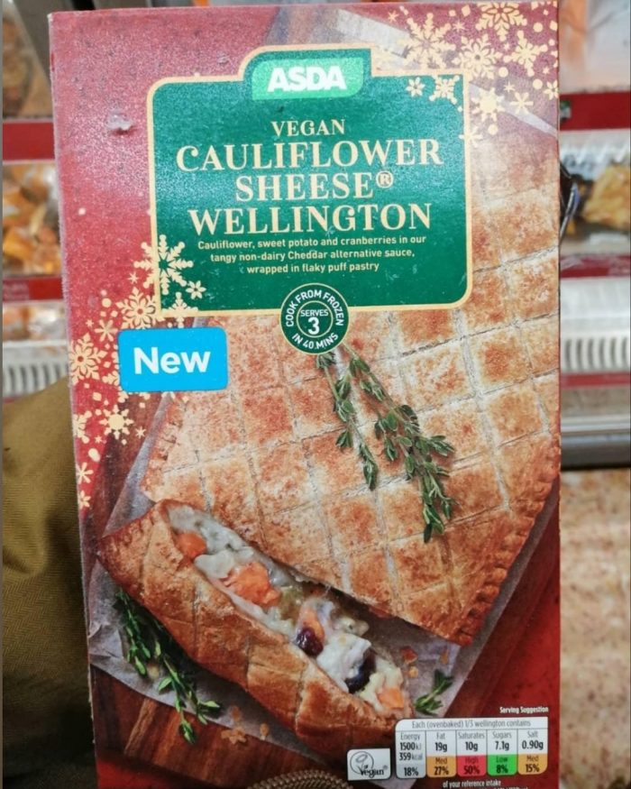 Asda Vegan Cauliflower Sheese Wellington
