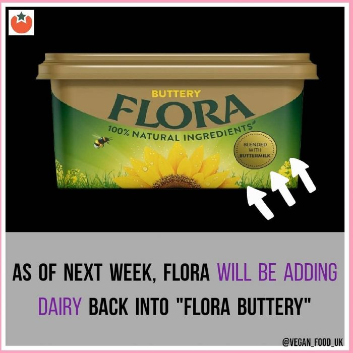 Flora To Add Dairy Back Into Its Buttery Products